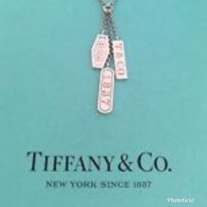 Tiffany and Co 1837 Triple Bar Earrings